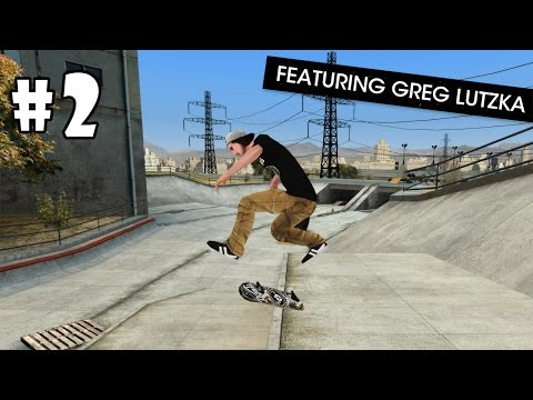 Skateboard Party 3 Greg Lutzka (by Ratrod Studio Inc) Android Gameplay #2 [HD]