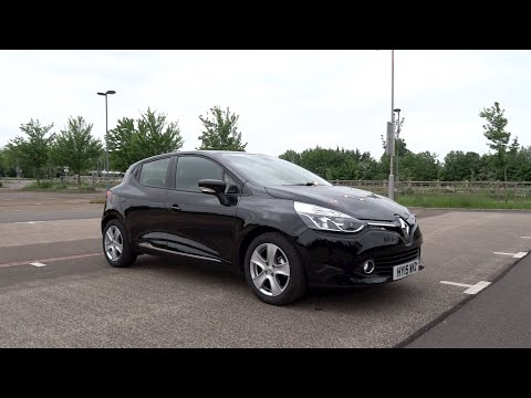 2015 Renault Clio 1.2 16v 75 Dynamique MediaNav Start-Up and