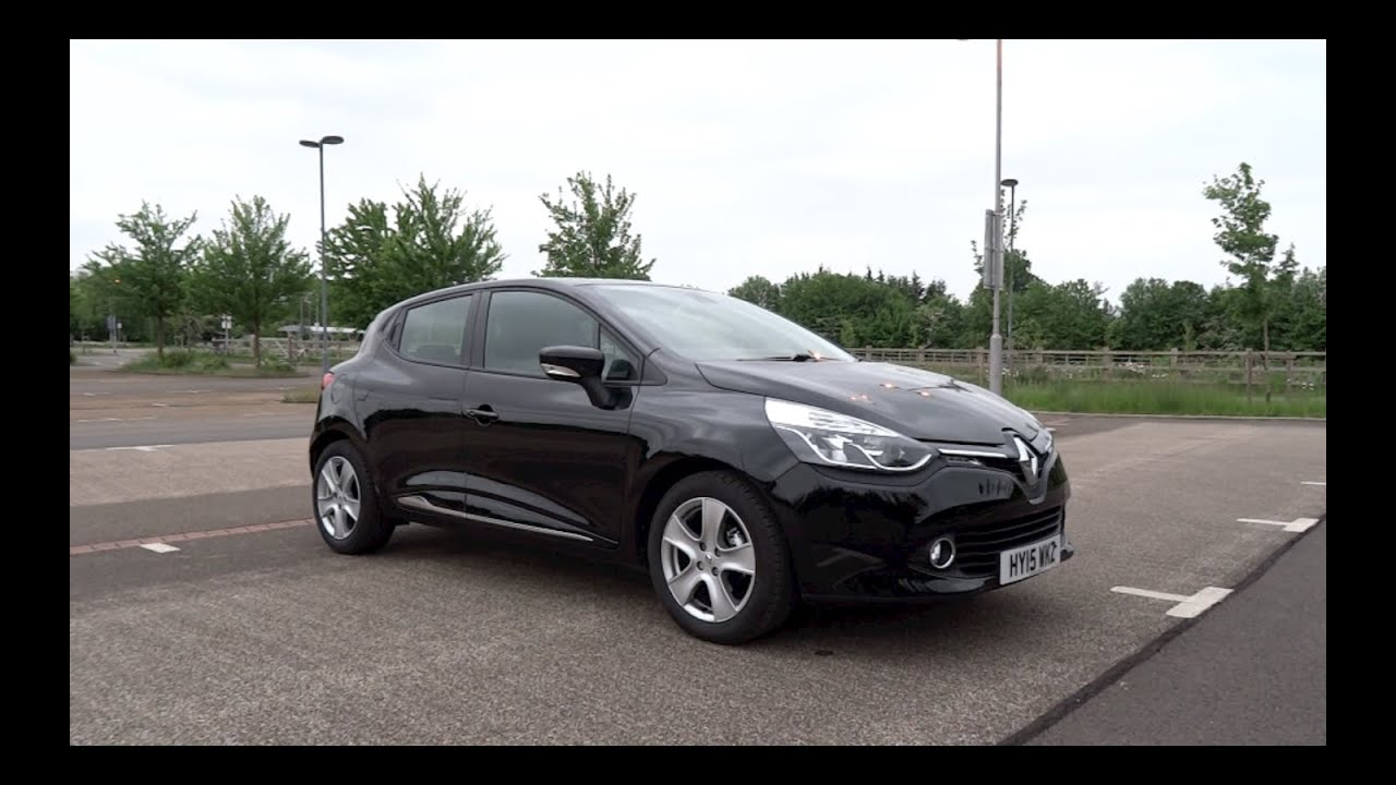 2015 renault clio 1 2 16v 75 dynamique medianav start up and full vehicle tour youtube