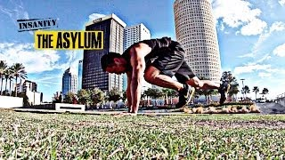 Insanity Asylum Speed And Agility Workout (outdoors)