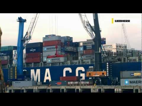 Liebherr - LHM Mobile Harbour Cranes