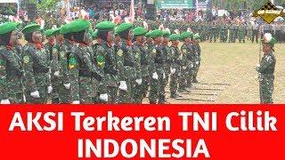 Download lagu Kecil - kecil Sudah keren || TNI CILIK INDONESIA
