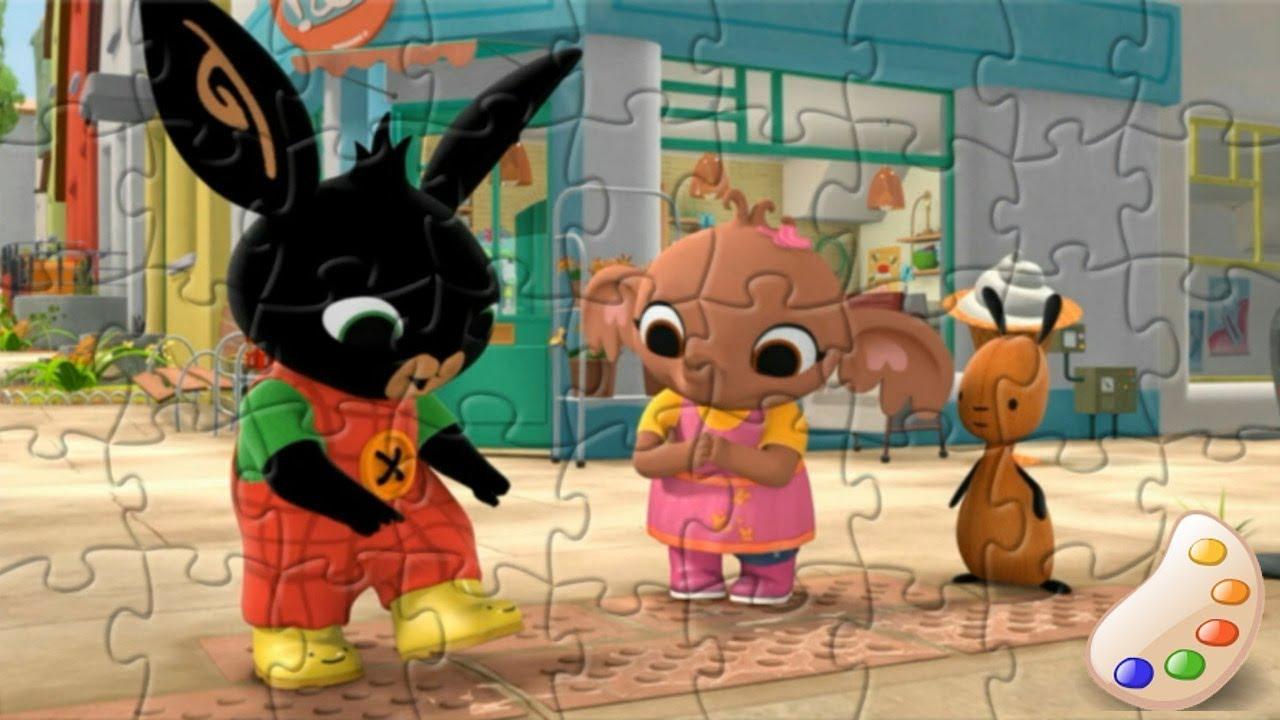 Bing Bunny Cbeebies Bing Sula Flop Fun Kids Puzzle Youtube
