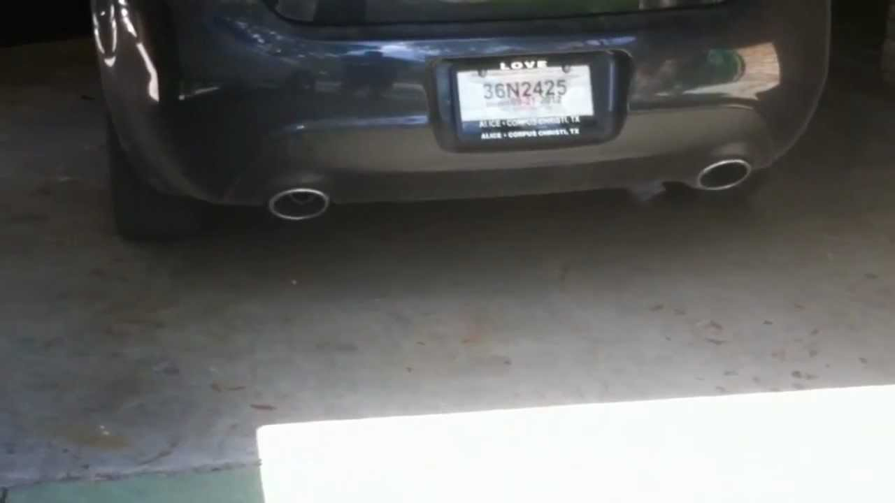 2013 dodge dart muffler delete - YouTube