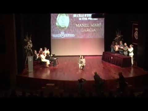 Medalla d'Or Consell d'Eivissa