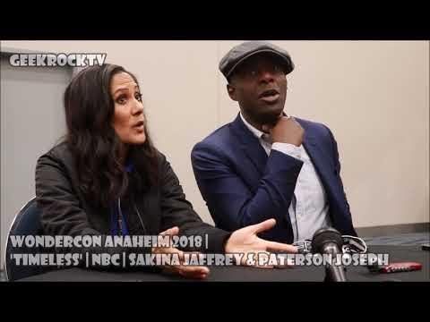 ⌚️ Season Finale Teaser | WonderCon 2018 | Timeless | Sakina Jaffrey & Paterson Joseph