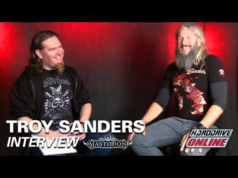 MASTODON'S TROY SANDERS talks Winning a Grammy, Tour with Primus and more!