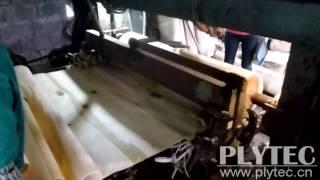 Simple Plywood Production Line With Peeling Machine ,veneer Cutting Machine -- Jaya