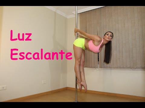 Luz Escalante - Tutoriais de Pole Dance por Alessandra Rancan