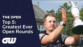 Top 5 Greatest Ever Open Rounds! | The Open Championship 2018