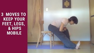 Movement Bite: Back in the office yoga for you.