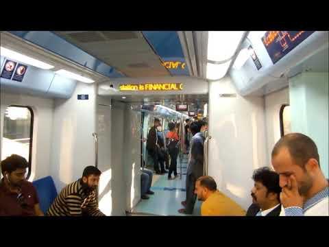 Dubai Metro (The World's Longest Fully Automated Metro)