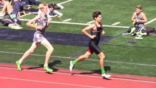 Jake Selstad PR 1600m vs Mission Hills 2017