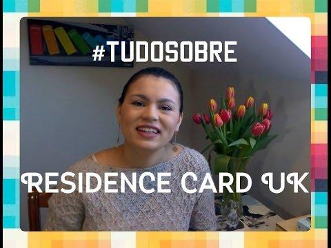 #TUDOSOBRE | RESIDENCE CARD UK!!! ✦ Da Favela para o Mundo✦