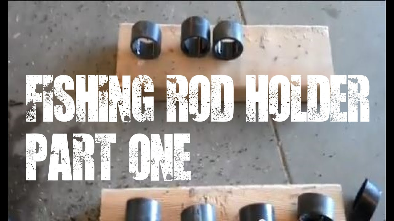 Fishing Rod Holder Video 1 Easy Solution For Hanging
