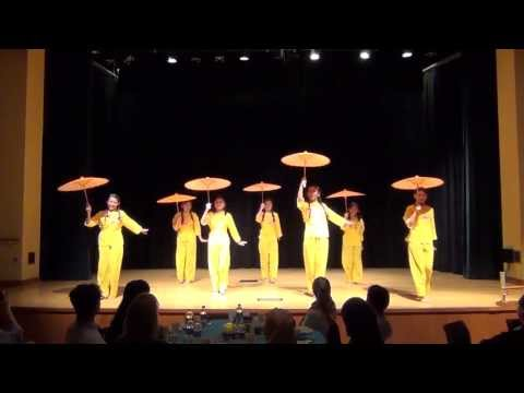 Penn State University Malaysian Night 2013: Chinese Umbrella Dance