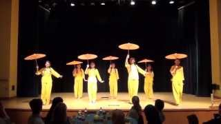 Penn State University Malaysian Night 2013: Chinese Umbrella Dance