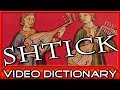 Shtick (n.) - My shtick is reading the dictionary. - The Video Dictionary