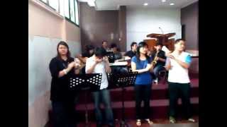 Hatiku Percaya [TW Cover] - GKI Manyar Youth Sunday Service