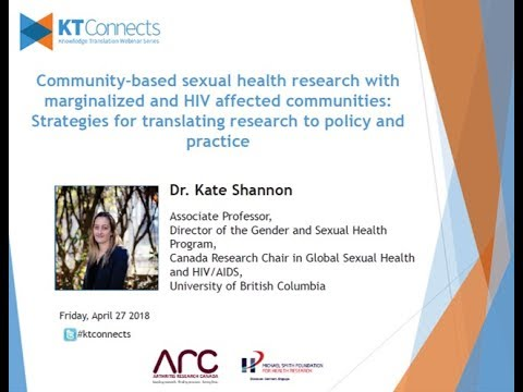 KT Connects | Community-based sexual health research