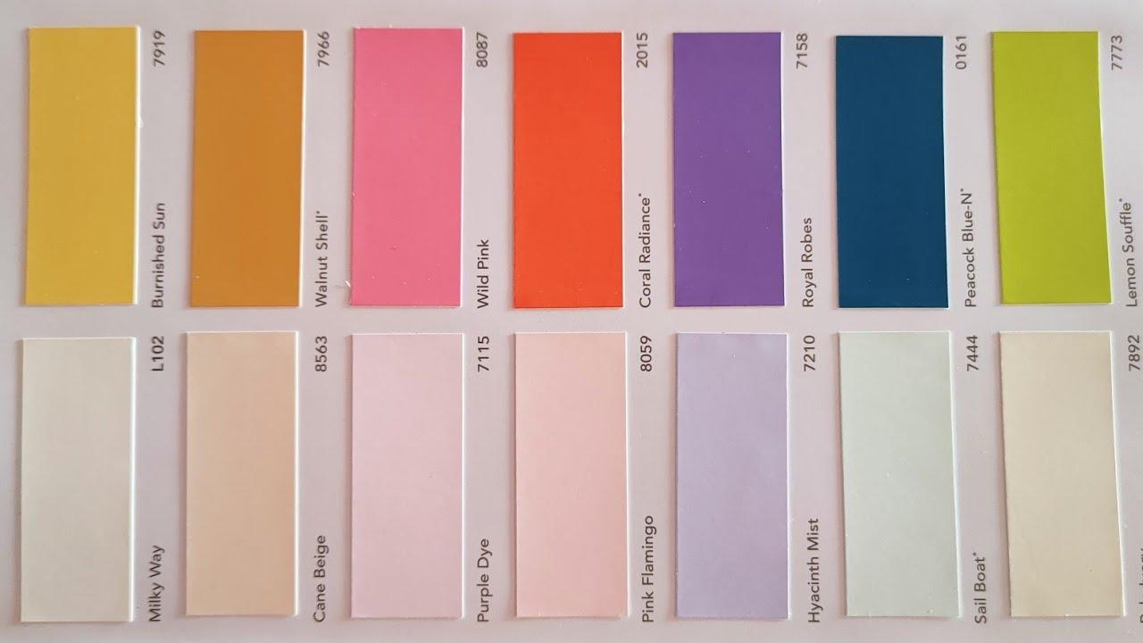 Asian Paint Colours Chart Asian Paint Colours Combination Wall Paint Colours Tips Colours Chart Idea Youtube