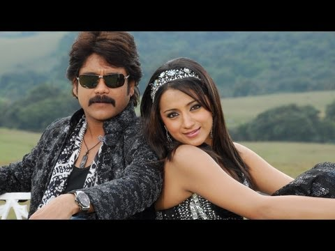 King Telugu Movie  A to Z Song With Lyrics  Nagarjuna,Trisha
