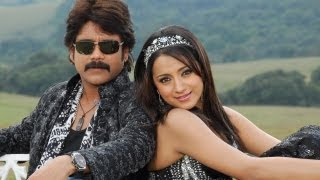 King Telugu Movie || A to Z Song With Lyrics || Nagarjuna,Trisha