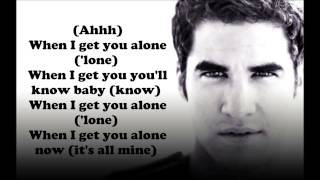 Glee Cast   When I Get You Alone Lyrics