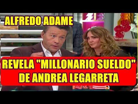 ALFREDO ADAME rompe el silencio y REVELA el INCREIBLE SUELDO de ANDREA LEGARRETA en HOY