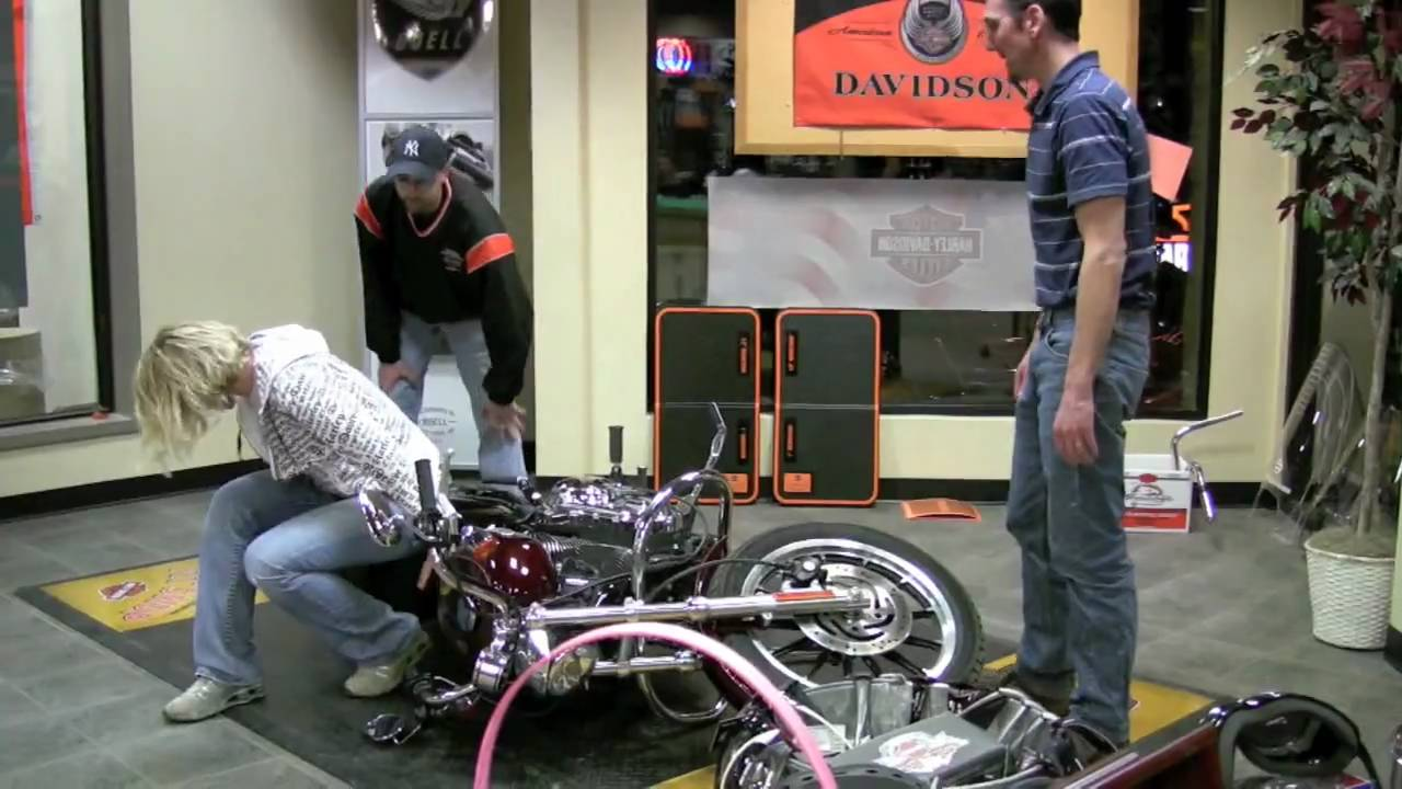 Waukon Harley-Davidson Garage Party - Bike Pick-up - YouTube