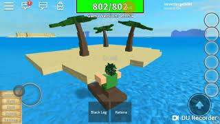 mobile: Roblox tutorial basic things in one Piece, the legendary title