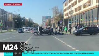 Фото ДТП произошло на пересечении Огородного проезда и улицы Руставели - Москва 24