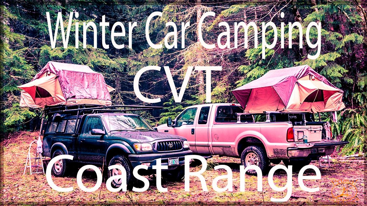 CVT MT Shasta Roof Top Tent | Winter Camping | Oregon ...