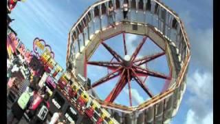 Ocean Beach Pleasure Park in South Shields. Tyne and Wear