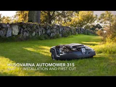 husqvarna automower 315 funnycat tv. Black Bedroom Furniture Sets. Home Design Ideas