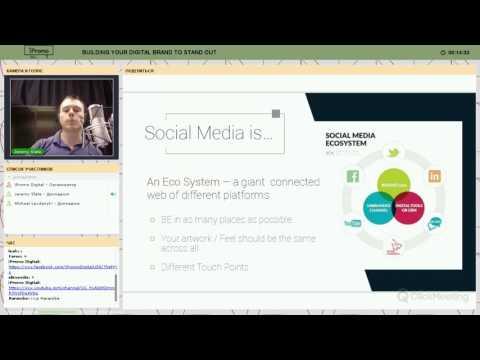 Building a Social Media Brand Online | Jeremy Ryan Slate
