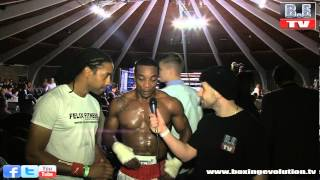 Flave interviews Ray and Dominic Felix at the Queensbury boxing league