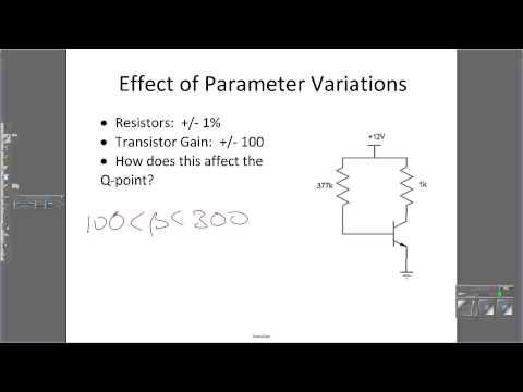 BJT Circuit:  DC Analysis