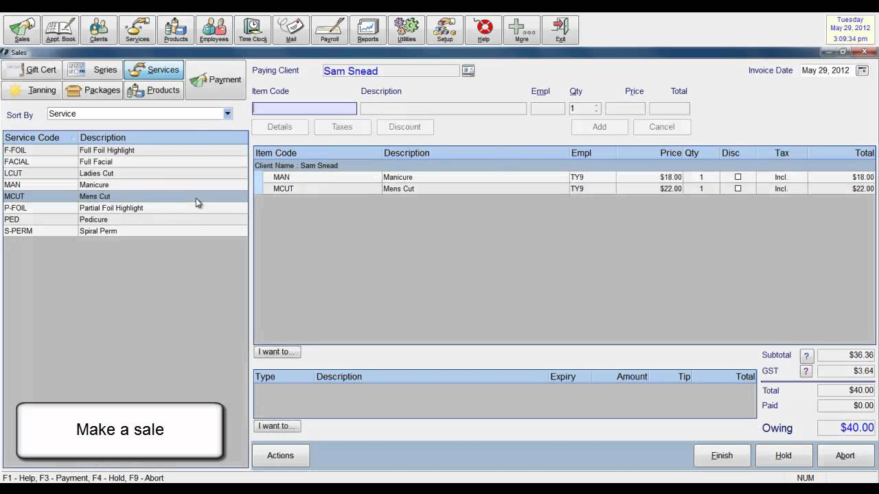 insight salon software how to send an receipt via email youtube