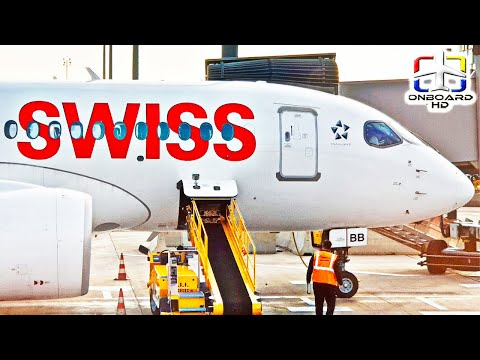 TRIP REPORT   What is that Weird Sound??   Amsterdam to Zurich   SWISS A220