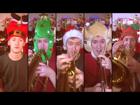 The Christmas Song (Chestnuts Roasting on an Open Fire) for Brass Quintet with sheet music