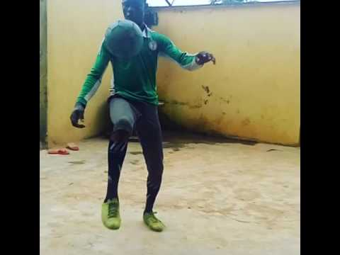 Young Nigeria star exercise