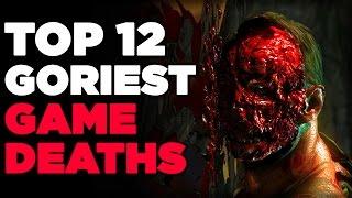 Top 12 Goriest Game Deaths