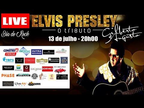 Assista: Live Dia do Rock Elvis Presley- O Tributo 13/07