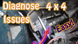 How to Diagnose and Repair Chevy Blazer and GMC Jimmy 4WD \ 4x4 Issues