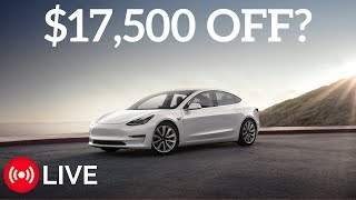 Video Tesla Model 3 Price Could Be Cut in Half for CA Residents  - Tesla News Recap for Sep 4th, 2017 download MP3, 3GP, MP4, WEBM, AVI, FLV Agustus 2018