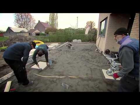 Hoe een terras aanleggen