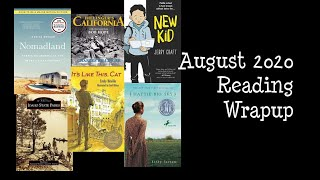August 2020 Reading Wrapup / Life Update