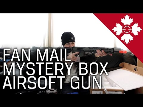 The most AMAZING Fan Mail Yet! | Mystery Box | Airsoft Gun