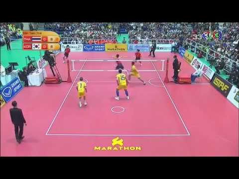 Thailand Vs Korea (Finals) - Sepak Takraw 32nd King's Cup (2017)